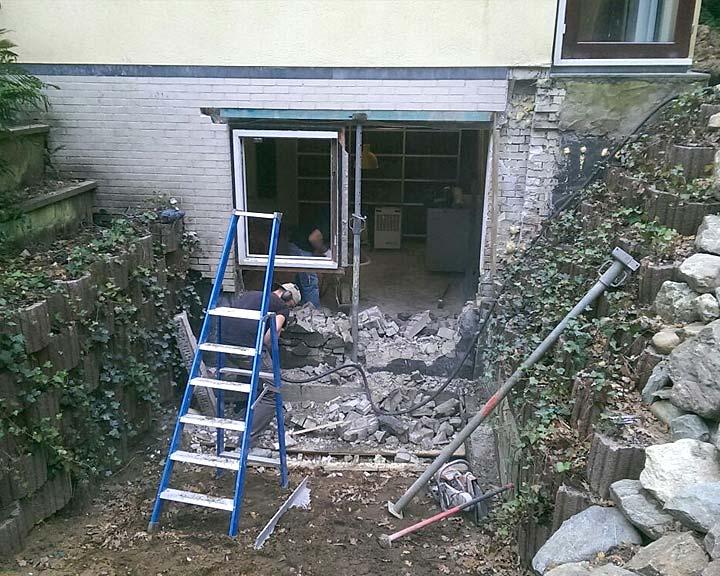 Bouw souterrain Hilversum