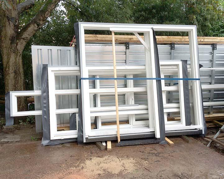 Nieuwe vensters voor de uitbouw