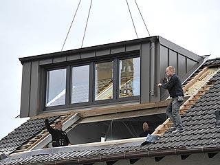 dakkapel gemaakt door aannemersbedrijf manten hilversum