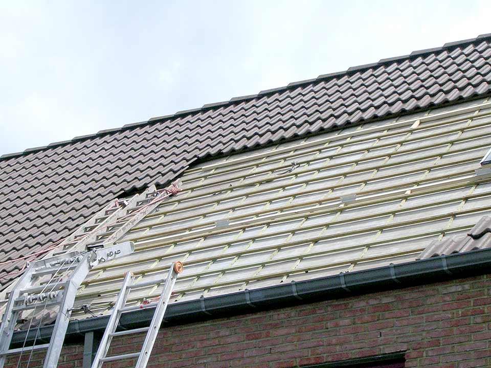 dakreparatie door bouwbedrijf aannemer manten hilversum