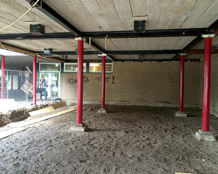 bouwproject Goois Lyceum Bussum