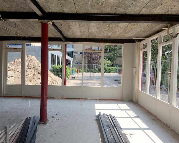bouwproject Goois Lyceum Bussum